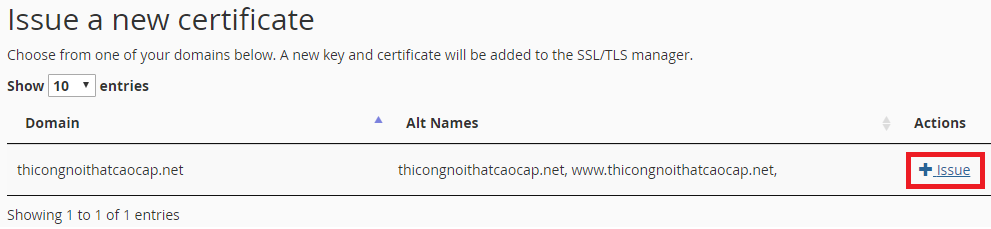 Hướng dẫn cài đặt chứng chỉ SSL Let's Encrypt miễn phí trên CPanel