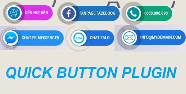 Plugin tạo button hotline chuyên nghiệp, khả năng tùy biến cao
