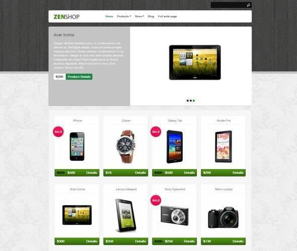 Zenshop – Theme WordPress Shop Bán Điện Thoại miễn phí